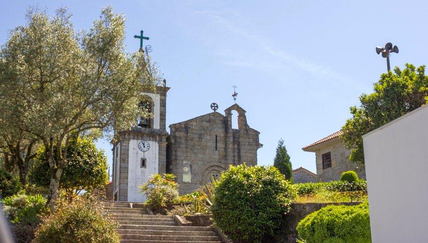 Igreja onde meu trisavô José Antonio da Rocha foi batizado em Verim, no distrito de Braga, em Portugal (Foto: Divulgação)