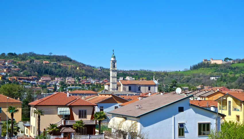 Montebello Vicentino, na região do Vêneto, na Itália (Foto: Wikimedia Commons)